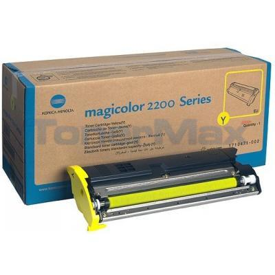 QMS MAGICOLOR 2200 TONER YELLOW
